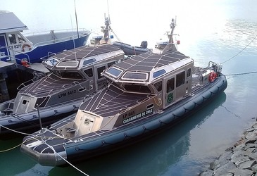 Chilean surveillance boats installed with Barrett HF