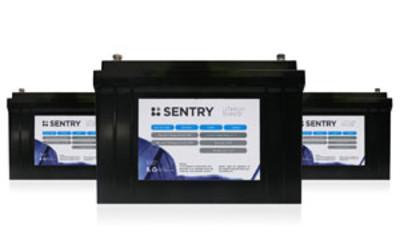 RFI Sentry Lithium range of batteries