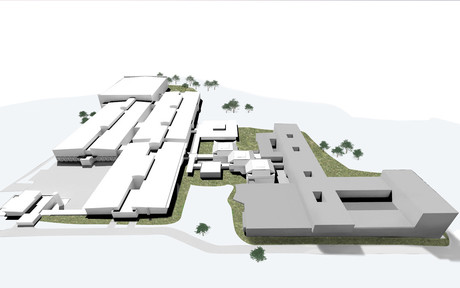 Visualization of the campus 3