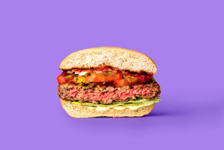 If half burger
