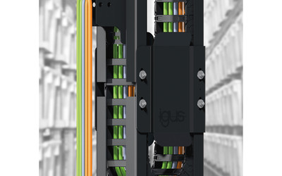 igus GLV vertical cable guide