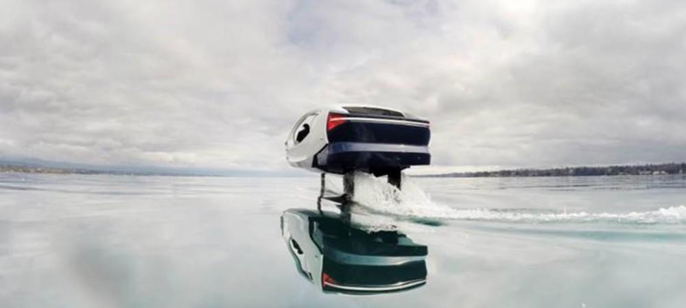 Electric water taxi tested on Lake Geneva