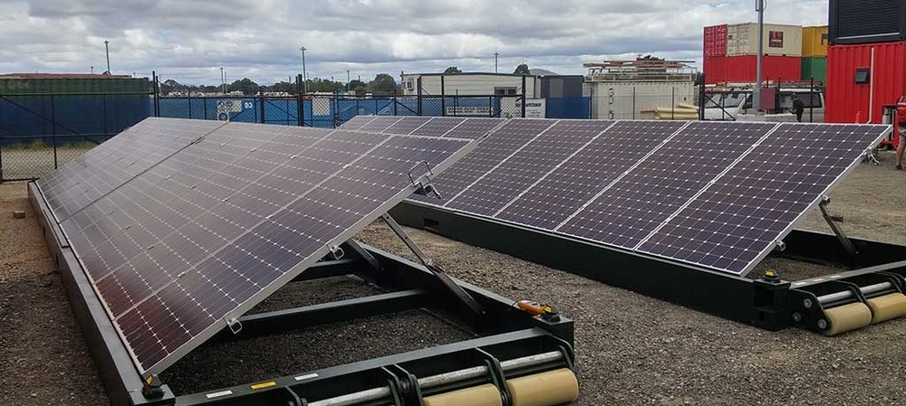 Pop-up solar system could replace diesel generators
