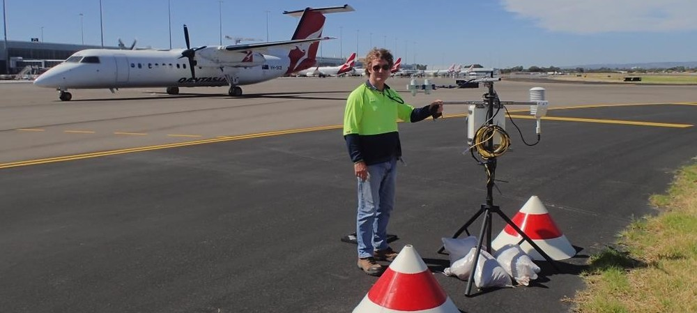 Smart watering reduces heat at Adelaide Airport