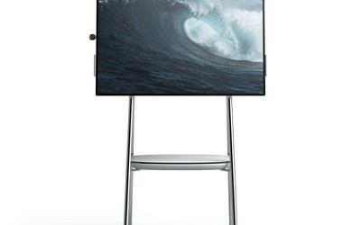 Microsoft Surface Hub 2 multitouch display screen collaboration device