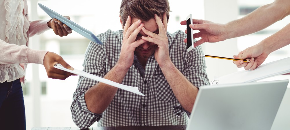 Stressed male workers may die younger