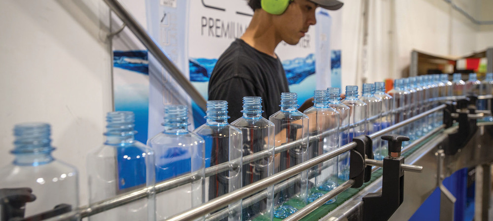Bottled water company quenches its thirst for high-pressure air