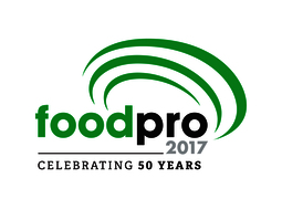 Foodpro 2017 logo 50 years rgb positive