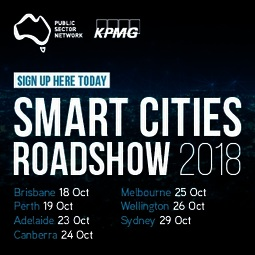 Public sector network   smart cities roadshow 2018 %28web banner 300x300%29   v1
