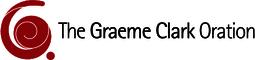 The graeme clark oration logo