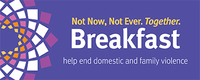 2019 not now. not ever. together breakfast logo