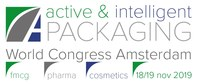 Active and intelligent packing world congress logo 2019