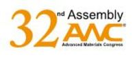 Advanced materials world congress 2020 logo