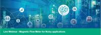 Webinar   magnetic flow meter for noisy applications