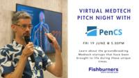 Webinar   virtual medtech pitch night with pen cs