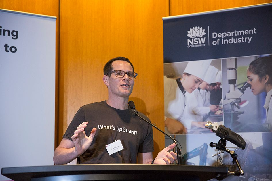 Cybersecurity Pitch @ NSW Parliament House, Sydney (09/05/2017) - Ribit