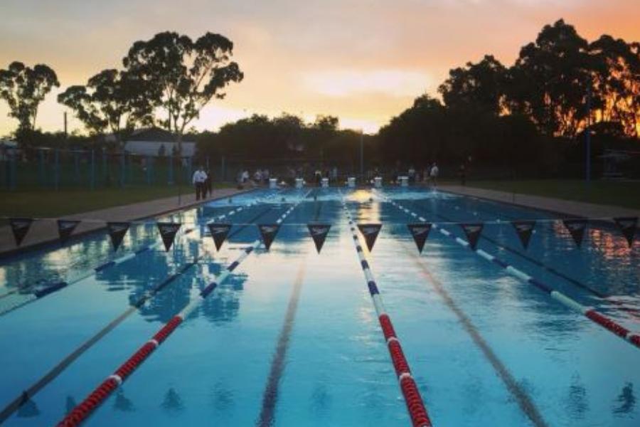 Mt Barker Barracudas Country Pennants Swim Bag Fund Banner