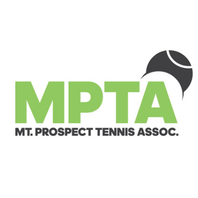 Mt Prospect Tennis - New Clubhouse Fencing Logo