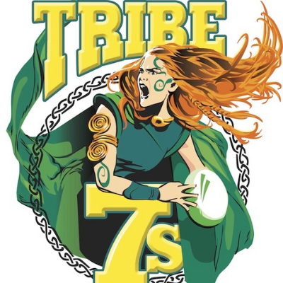 Tribe7s 2019 Hong Kong All Girls Rugby Tournament Logo