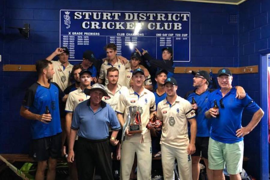 Sturt District Cricket Club Facilities Upgrade Banner