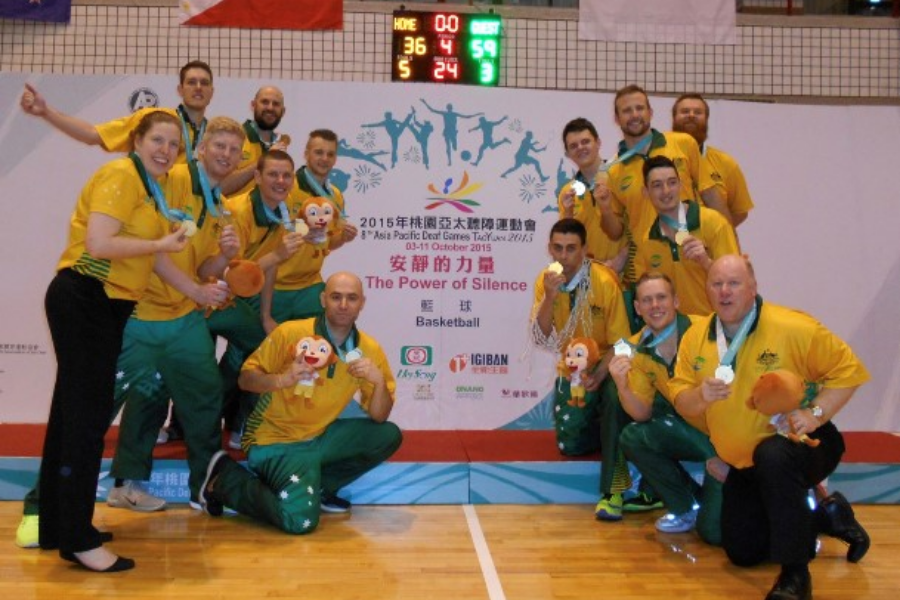 2019 Asia Pacific Games for the Deaf Banner