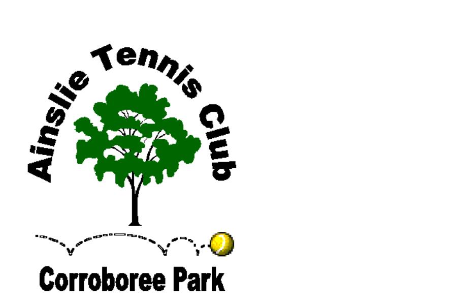 Refresh Ainslie Tennis Clubhouse Banner