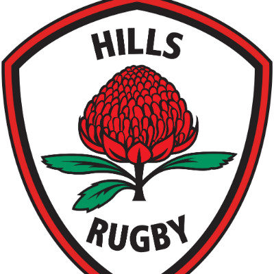 Hills Rugby 2019 Coaches and Managers Program Logo