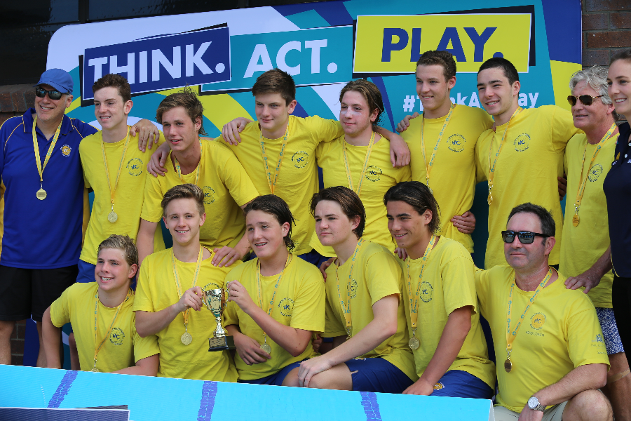 Melbourne Collegians Water Polo Club Development Fund Banner