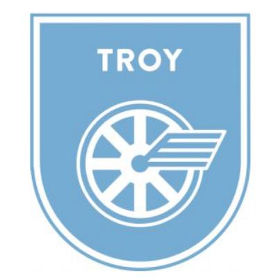 Troy Splash or Dash Logo