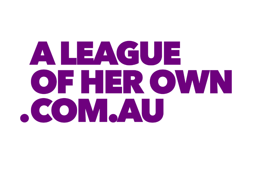 A League of Her Own Banner