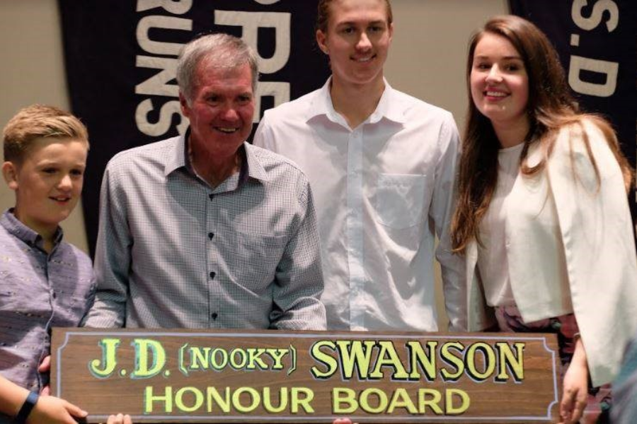 Nookie Swanson Gillon Oval Facilities Fund Banner