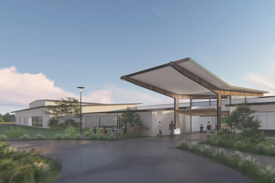 Meridan Community Centre Building Fund Banner