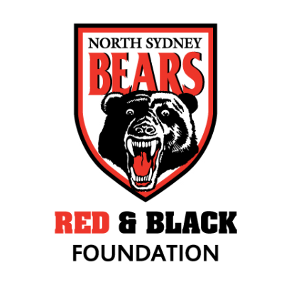 North Sydney Bears Red and Black Foundation Womens Rugby League program