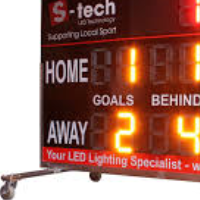 Replacement Scoreboard
