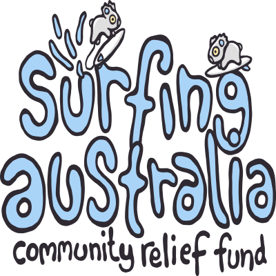 Surfing Australia Community Relief Fund Logo