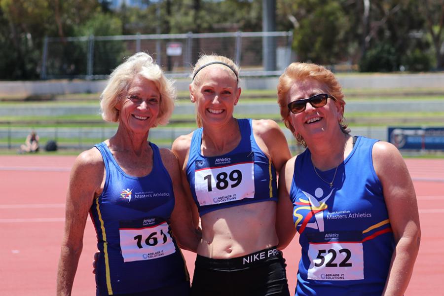 SA Masters Athletics Banner