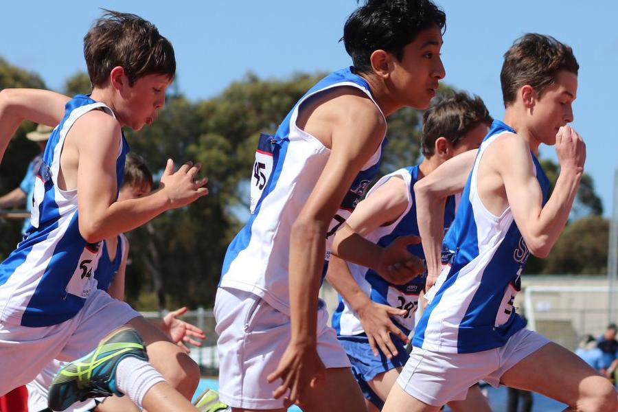 Saints Athletics Club Banner