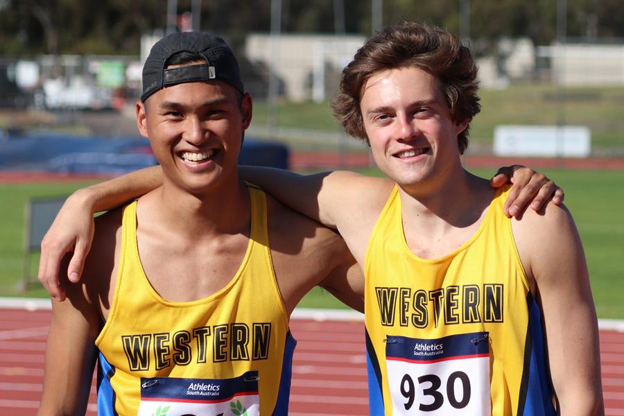 Western Athletics Club Banner