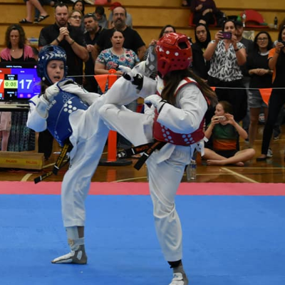 Ava Dolan 2019 2020 High Performance Taekwondo Events