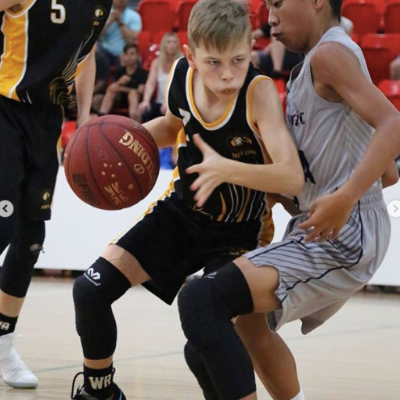 Help BJ Fitch reach the School Sports Aust National Basketball Championships Logo