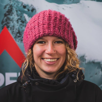 Michaela Davis Meehan Freeride World Tour 2020 Logo