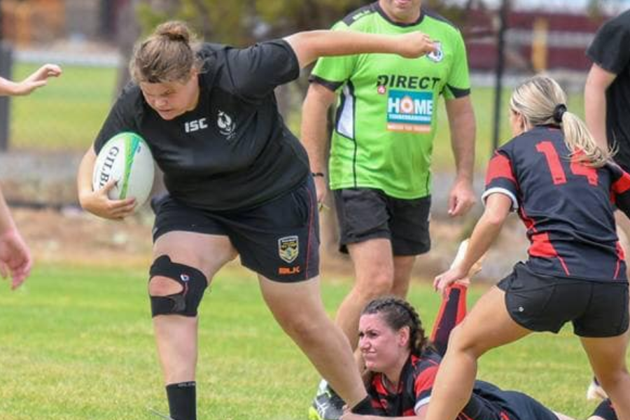 Adelaide University Rugby Union Junior State Representatives - Pam Francis Banner
