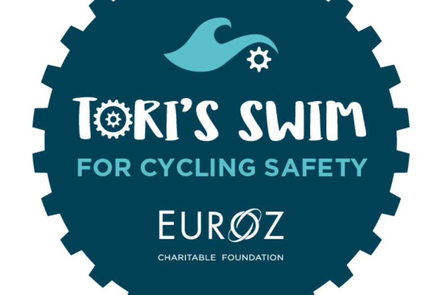 Toris Swim for Cycling Safety Banner