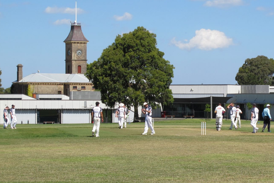 College Cricket Club Social Members Development Fund Banner