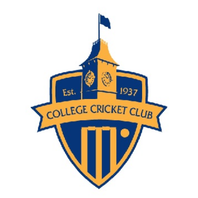 College Cricket Club Social Members Development Fund Logo