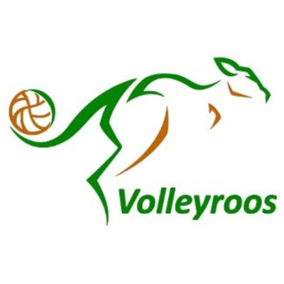 Womens Volleyroos Road to Olympic Qualifiers Logo