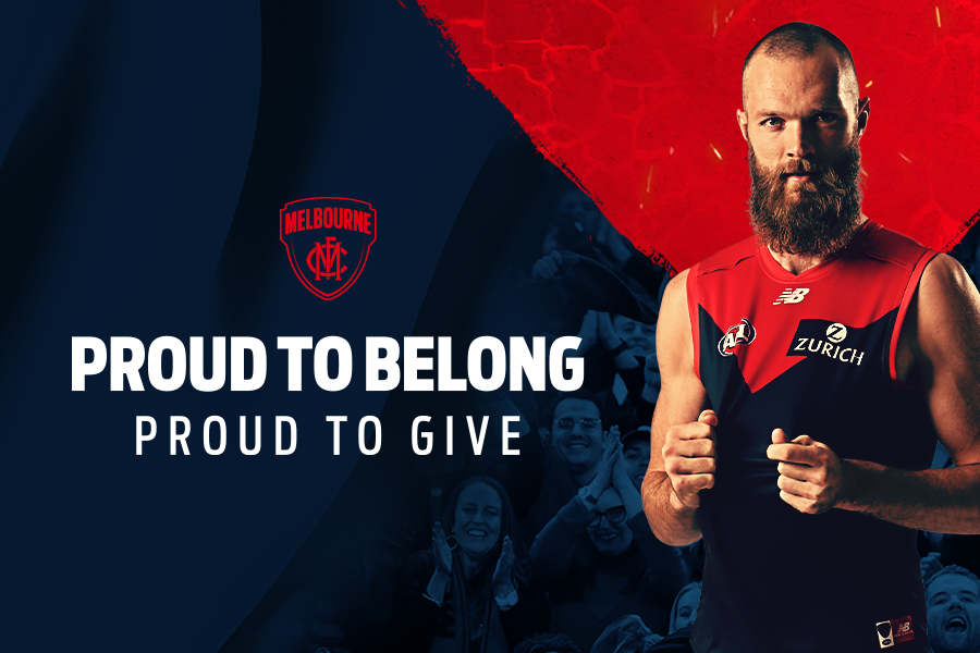 Proud to Belong, Proud to Give Banner