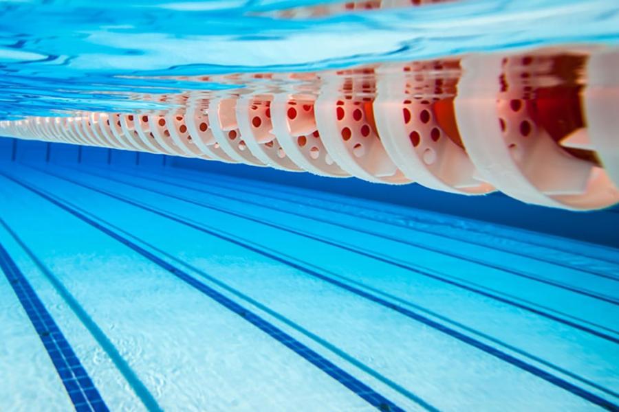 August Swim Challenge Banner