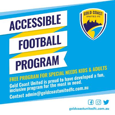Gold Coast United FC Accessibility Program