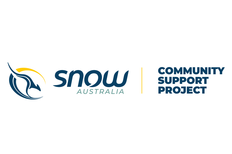 Snow Australia Community Support Project Banner